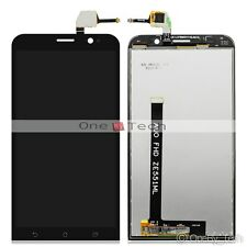 """Black Touch Digitizer LCD Display Assembly For 5.5""""Asus Zenfone 2 ZE551ML Z00ADB"""
