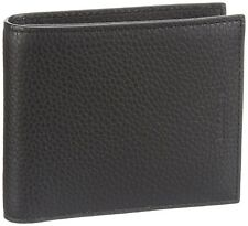 Lacoste Black Pass Case Coin Pocket Wallet NH0627JO Genuine -  Leather - In BOX