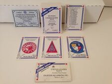 UNITED STATES NAVY AVIATION PATCH SERIES 3, SET 1 FIGHTER SQUADONS (VF) Card Set
