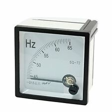 Arabic Numerals 45-65Hz 45-65 HERTZ Frequency Panel Meter AC 220V