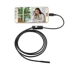 5M 5.5mm 6 LED Waterproof Endoscope Borescope Snake Inspection Video Camera