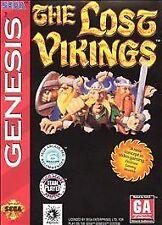 Lost Vikings (Sega Genesis, 1992)