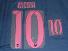 MESSI 10 Away 2016/17 Name and Number Set For Barcelona Jersey Iron On BARCA