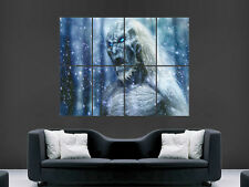 GAME OF THRONES WHITE WALKERS ART LARGE  GIANT POSTER PRINT