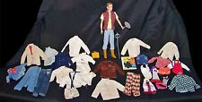 Vintage Barbie Boyfriend Ken Doll + Original Tagged Mattel Clothes Pants Jackets