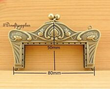 metal frame sewing bag purse frame clasp anti bronze alloying 8 cm D14