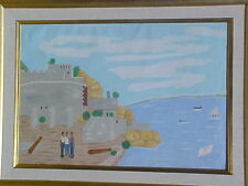 Haitian Painting by Philome Obin 24x36