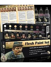 Scale 75 Flesh Colours Acrylic Paint Set 8 Bottles