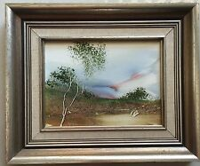 Jim Crofts(1922~)~Australian Listed Artist~original painting~Country Scene~79