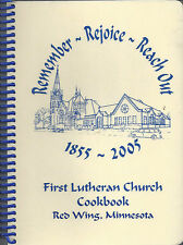 *RED WING MN 2005 FIRST LUTHERAN CHURCH COOK BOOK *REMEMBER *REJOICE *REACH OUT