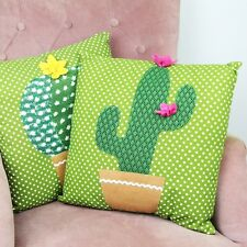 Colourful Cactus Cushion