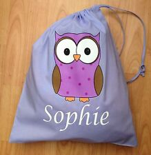 personalised cotton drawstring pe bag | eBay