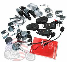 Sena Bluetooth 10S Motorcycle Bluetooth Communication System 10S-01D Dual Pack