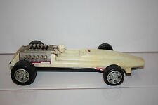Vintage Russian Rallye car Tin Plastic Made in USSR (320mm long)