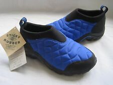 NWT Womens Merrell Hollofil Blue Quilted Moc Mocassin Shoe Boots 5 Sticky Rubber
