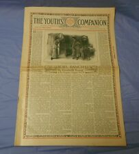 1913 THE YOUTH'S COMPANION November 11th FN+ Great Vintage Ads
