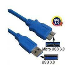 "USB 3.0 DATA SYNC CABLE  FOR HITACHI TOURO 0S03240 3.5"" DESKTOP HARD DRIVE"