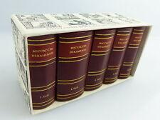 5 Minibücher: Das Dekameron des Giovanni Boccaccio 1. bis 5.Tag Band 1-5 e105