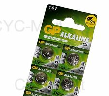 GP LR44 AG13 A76 Batteries x 4 pcs Original Packing FREE POST Worldwide NEW 2018