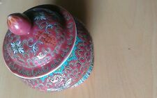 Chinese Decorative Urn Vase Ginger Jar homeware Stunning Colours New Oriental