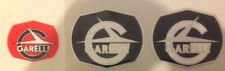 GARELLI TIGER CROSS RECKORD ENGINE AND REAR LAMP DECALS X 3