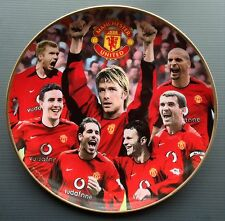Man Utd Stars of 2003 Danbury Mint Plate David Beckham Manchester United Keane
