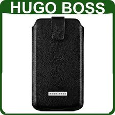 Genuine HUGO BOSS LEATHER CASE BlackBerry Z10 original wallet cover phone pouch