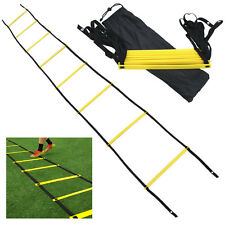 8 rung Soccer Football Speed Agility Training Ladder Sports Exercise Equipment