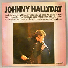 """33 T VINILO JONNHY HALLYDAY """" LE CENTRO PENITENCIARIO / DULCE VIOLENCIA """""""