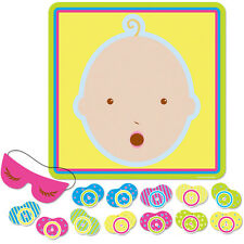 NEW Baby Shower Party Game PIN il Manichino Ciuccio per Bambino Decorazione forniture