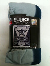 Dallas Cowboys fleece blanket throw 1960 established design NEW