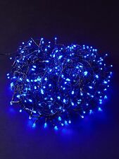 80 LED BLUE CHRISTMAS LIGHTS XMAS PARTY TREE INDOOR OUTDOOR CHASER LIGHTS