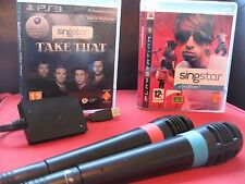 PS3 Classic Singstar 55 Song Games + 2 Microphones Bundle - Playstation 3 / PS3