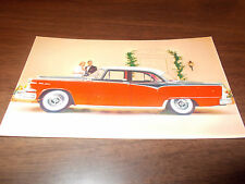 1955 Dodge Custom Royal Lancer 4-Door Sedan Advertising Postcard