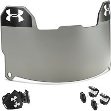 Under Armour Adult Football Visor - Gray - FREE SHIPPING