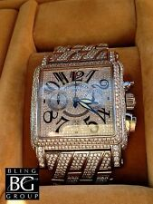 FRANCK MULLER® 49.75ct KING CORTEZ™ DIAMOND WATCH!