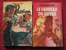 LOT 2 Collection toi et moi  PASSION A. ACHARD / LE FARDEAU DU PASSE J. MAUCLERE
