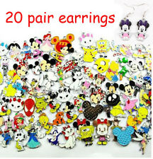 Wholesale 20 pair Cartoon Pendant Earring Kid Birthday Party Bag Favor Gift