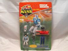 M.A.S.K. ACTION FIGURE BRUCE SATO RESCUE MISSION CARDED, MOC