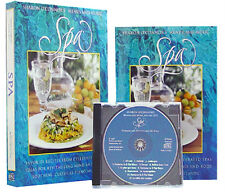 Sharon O'Connor Spa Cookbook and CD Piano Music Dinner Concert