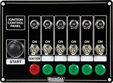Quickcar Switch Panel Dash Mount With Toggles, Lights And Circuit Breakers