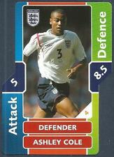 TOPPS MATCH ATTAX WORLD CUP 2006- #004-ENGLAND-ASHLEY COLE