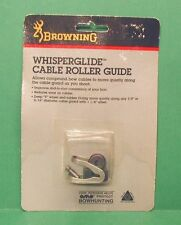 "New Browning WhisperGlide Cable Roller Guide for 5/16"" or 3/8"" Cable Guards"