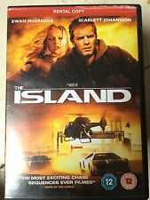 Ewan McGregor Scarlett Johansson THE ISOLA ~ 2005 fantascienza Thriller UK DVD