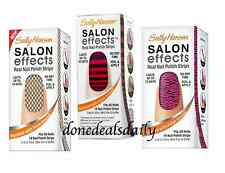 Sally Hansen Salon Effects Real Nail Polish Strips - LOT OF 3! New!