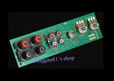 Subwoofer Low-pass Filter Front Plate y High Level Input (input output balance)