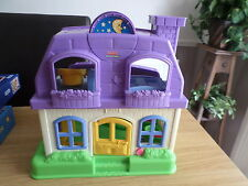 FISHER PRICE LITTLE PEOPLE HAPPY SOUNDS HOME  DOLLS HOUSE FREE POST