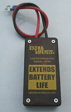 12v LEAD/ACID BATTERY DESULFATOR - HEAVY DUTY - UK MADE - LIFETIME GUARANTEE