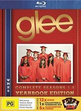 Glee : Season 1 2 & 3 YEARBOOK (Limited Edition) 12-Disc Set : NEW Blu-Ray