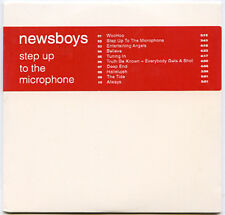 NEWSBOYS Step Up To The Microphone advance promo 2003 CD SEALED never opened
